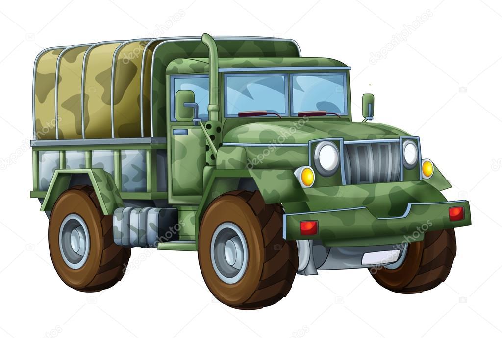 Dessin anim de camion militaire photographie - Dessin de militaire ...