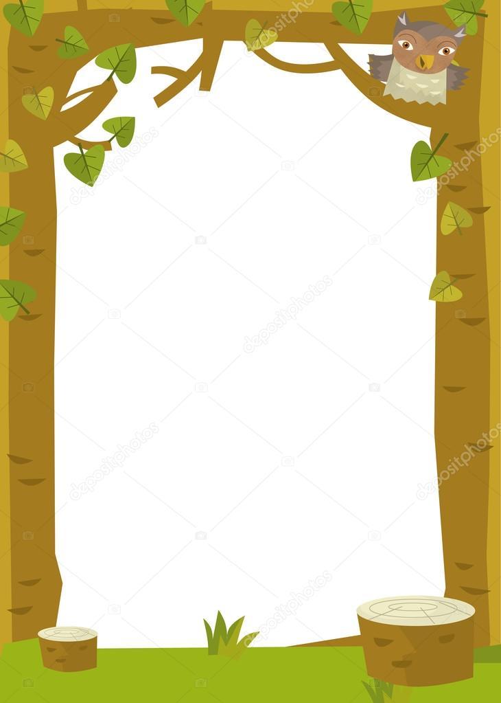 forest in nature frame stock photo c illustrator hft 68176607 https depositphotos com 68176607 stock photo forest in nature frame html