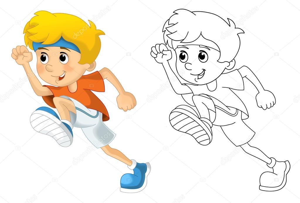 Imágenes: atletas para colorear | Los niños y el deporte - gimnasia ...