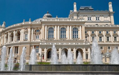 opera theater building in Odessa Ukraine