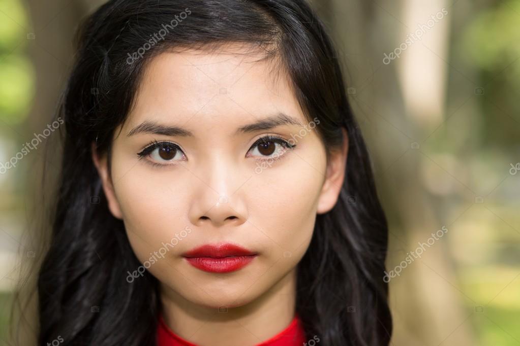 Pretty asian women