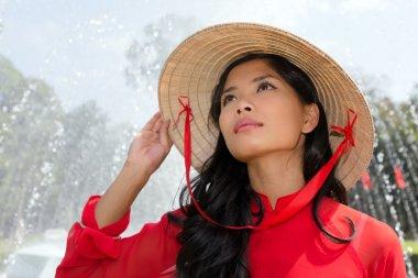 Vietnamese woman portrait