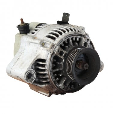 Used automobile generator or Dynamo isolated