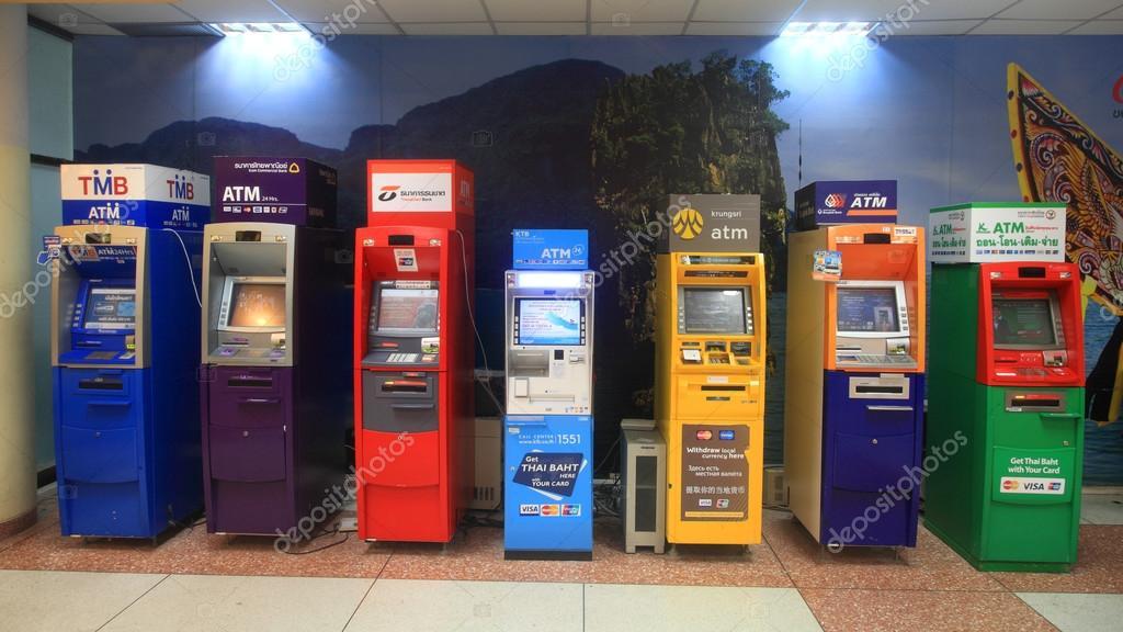 ATM cash machines at Phuket airport