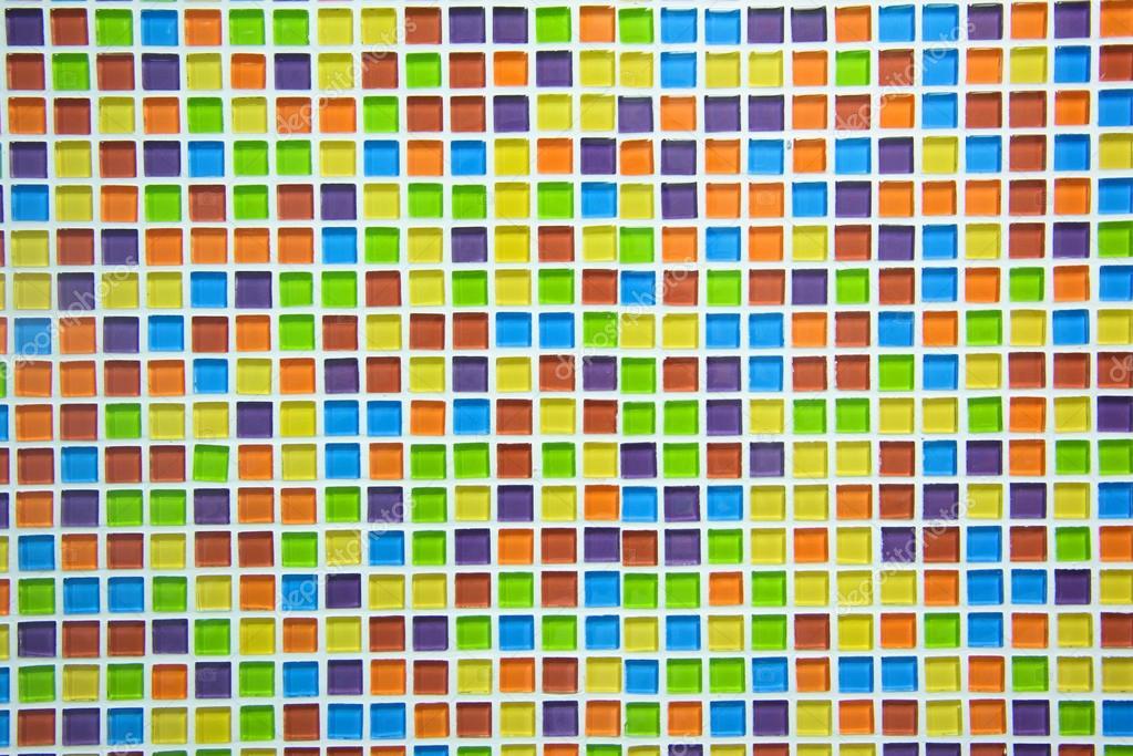Bunte fliesen fur mosaik for Hintergrund kuche glas
