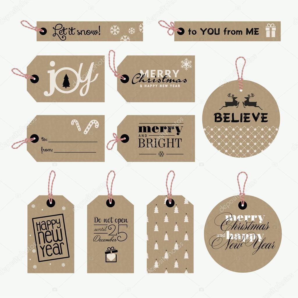 Erfreut Bilder Von Weihnachten Geschenkanhänger Ideen ...