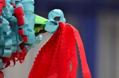 Mexican colorful piñata