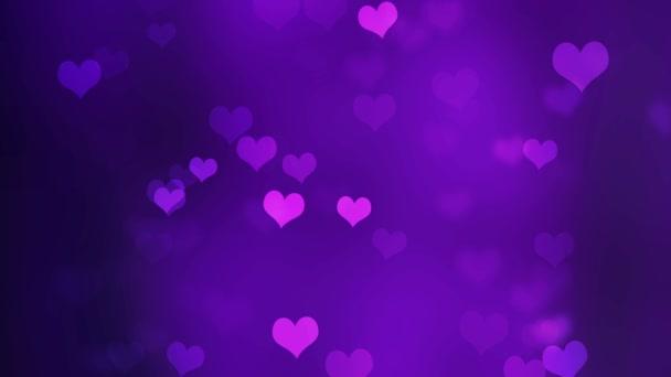 elvont valentin háttér bokeh és szív