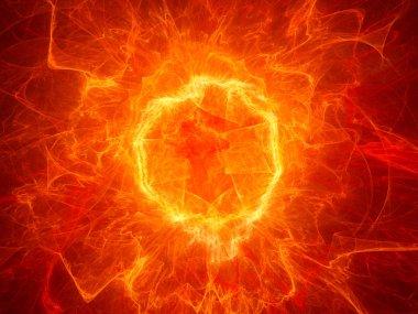 Fiery torus shaped plasma power field