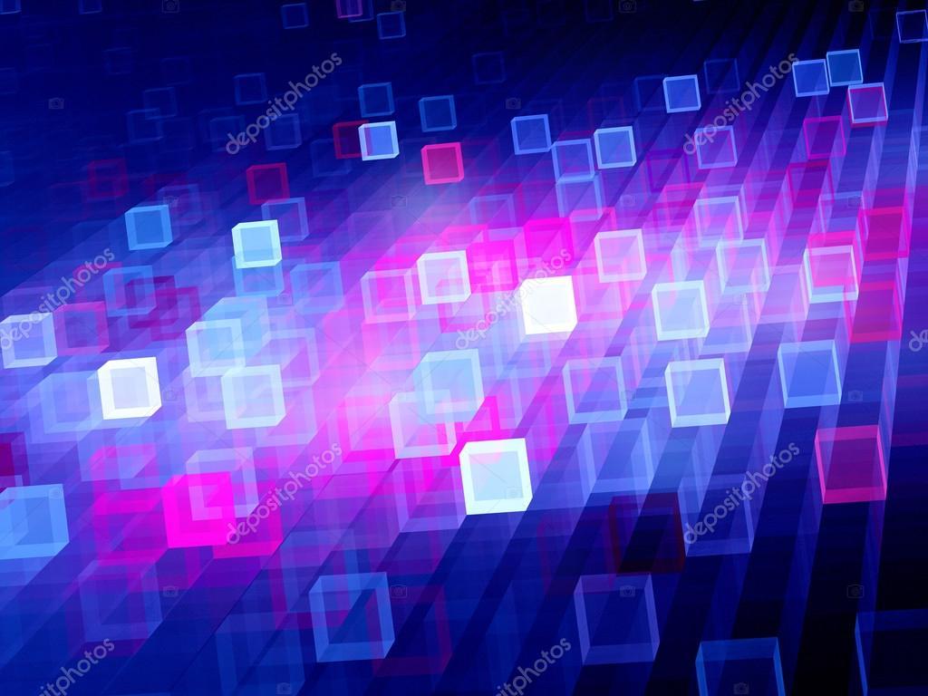 multicolored glowing cubes stock photo sakkmesterke 70882565