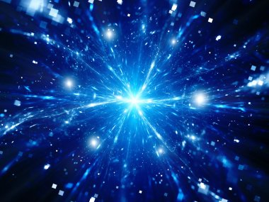 Magical explosion of big data in space