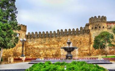 Fountain in Sabir park of Baku