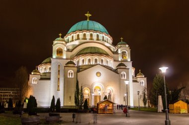 The Saint Sava Cathedral in Belgrade