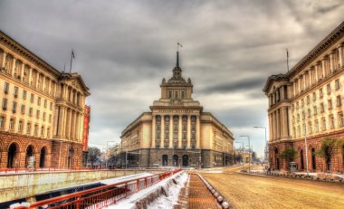 National Assembly building in Sofia - Bulgaria