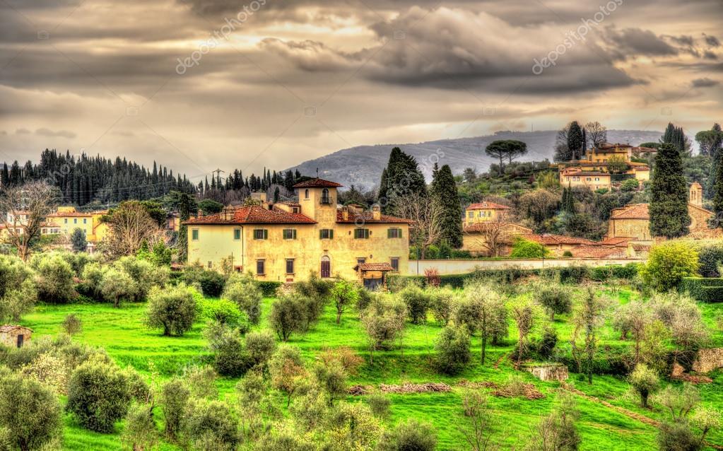 イタリア - フィレンツェ近郊アペニン山脈の眺め — ストック写真