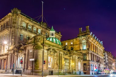 Buildings on Ingram Street in Glasgow - Scotland