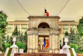 Fotografia Vista dellarco trionfale a Chisinau - Moldavia