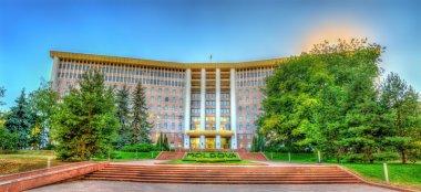 Parliament of the Republic of Moldova in Chisinau