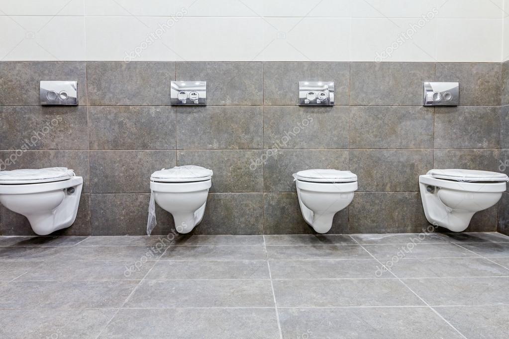 Public toilet cubicle Stock Photo roman023 118138560