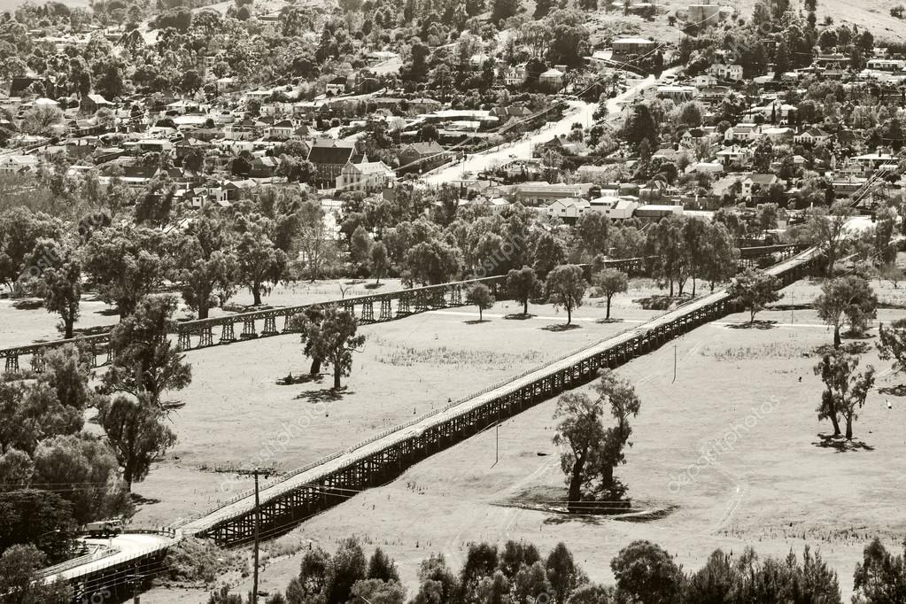 Gundagai historic bridges