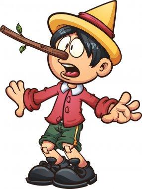 Long nose Pinocchio