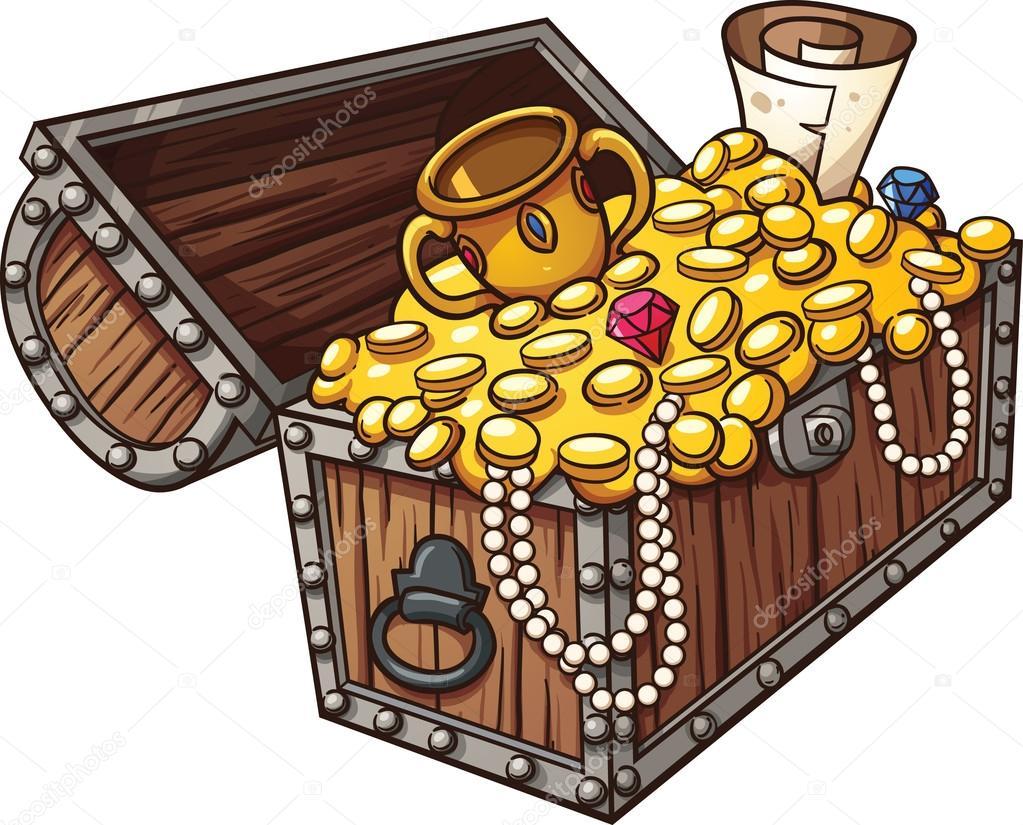 treasure chest stock vector memoangeles 66010155