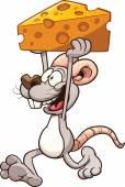 kreslená myš