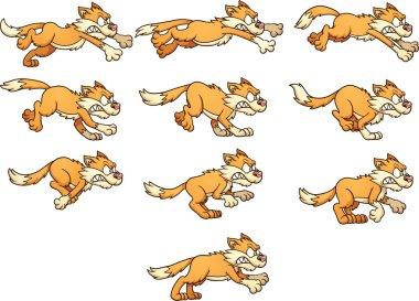 Cat run cycle