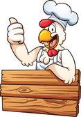 Fotografia pollo chef