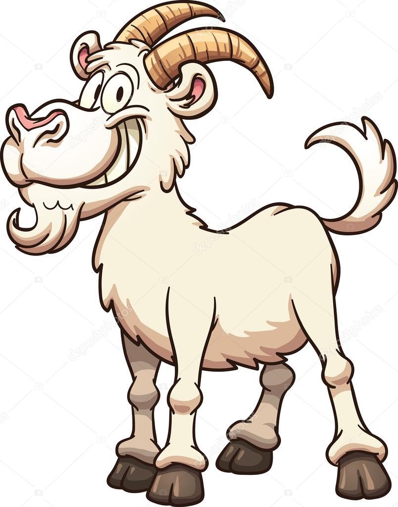 Cartoon goat Stock Vector memoangeles