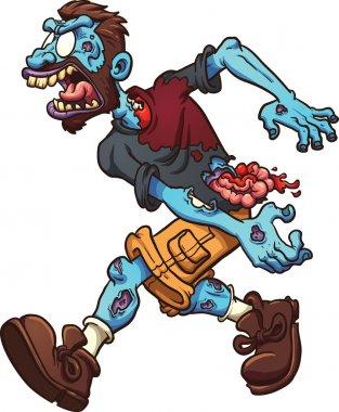 Cartoon zombie