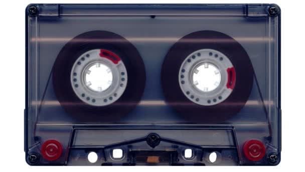 Audio tape (white screen)
