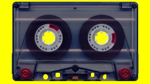 Audio kazetta (sárga képernyő)