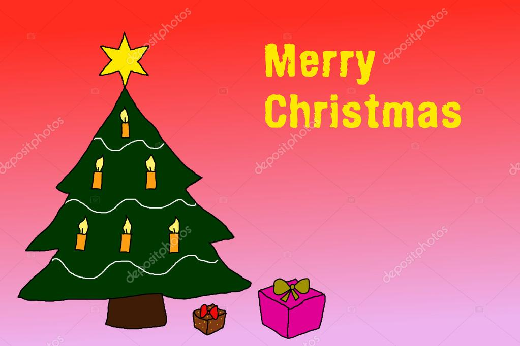 Wünsche Frohe Weihnachten.Abbildung Ich Wünsche Frohe Weihnachten Stockfoto Gwolters