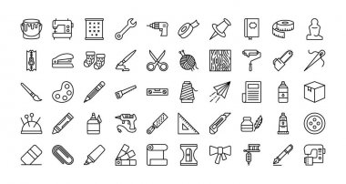 Most demanding art, craft and  painting fill icons for your future web mobile and personal  projects fully editable vector graphic icons in 4 different styles.