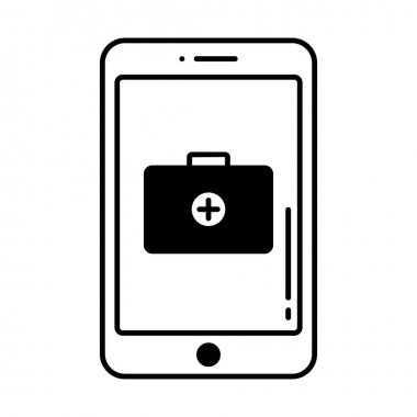 Digital medicine Vector Icon which can easily modify or edit icon