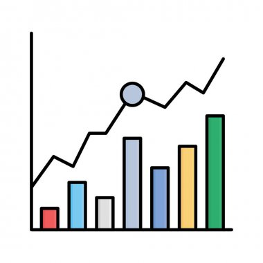 Analytics Isolated Vector icon that can be easily modified or edited icon