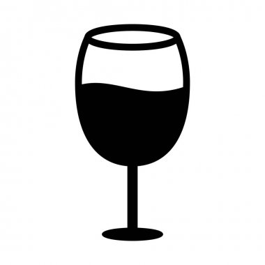 Alcohol Glyph vector icon which can easily modify or edit icon