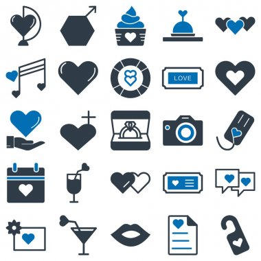 Love and Romance Pack Isolated Vector icon that can be easily modified or edited icon