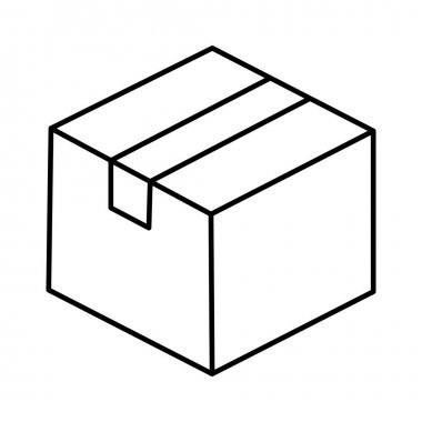 Box Vector icon which can easily modify or edit icon