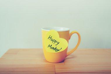 Happy monday note