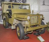 MB - négykerék-meghajtású jármű Willys (1942). Max. sebesség - 104