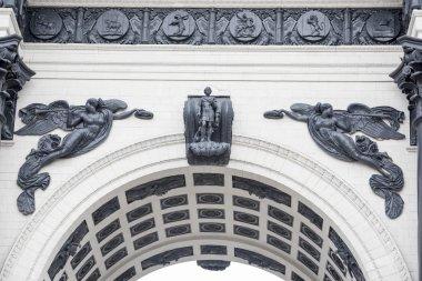 Moscow Triumphal Arch (Arc de Triomphe)
