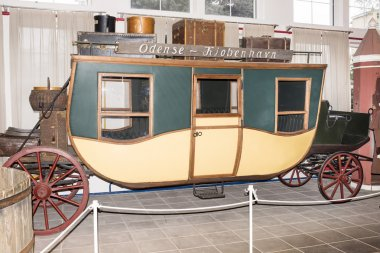 Passenger carriage; 19th century in