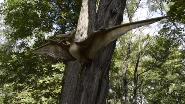 Pterodactylus.Period: Jura und Kreide-Periode