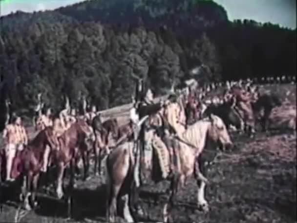 Američtí indiáni připravují na bitvu