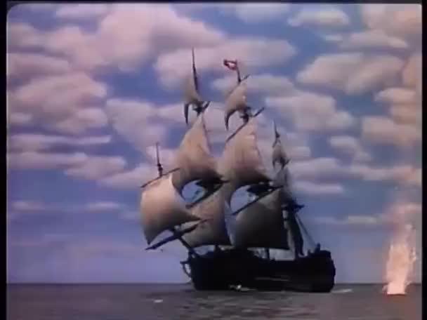 bomby nepřispívali mimo poblíž pirátská loď na moři