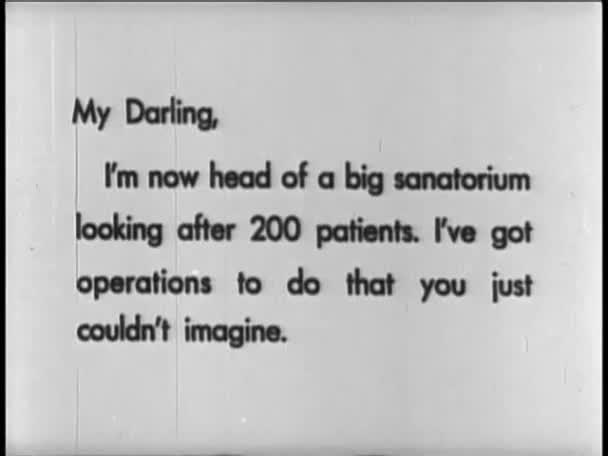 type written letters, 1920s