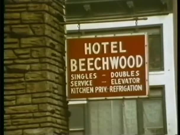 Hotel Beechwood nápisu