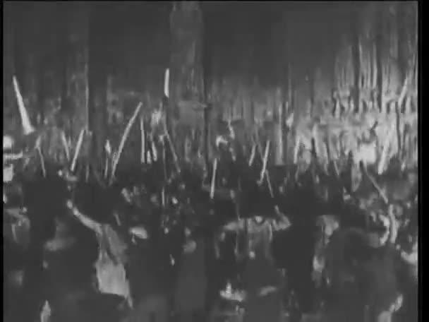dav útočící vojáci